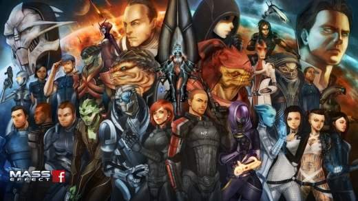 MASS EFFECT : Ton univers impitoyable !!! *Dallas Song*