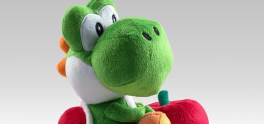 La Peluche Yoshi du Club Nintendo !