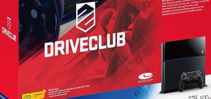 Le Bundle PS4 + DriveClub