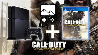 Promo : la PS4 +Call of Duty : Advanced Warfare - édition limitée atlas à 419€99 !