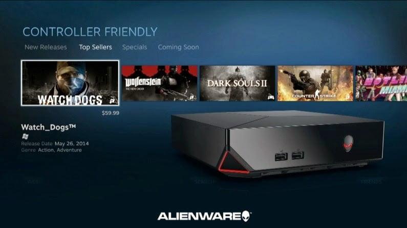 Prise en main de l'Alienware Alpha