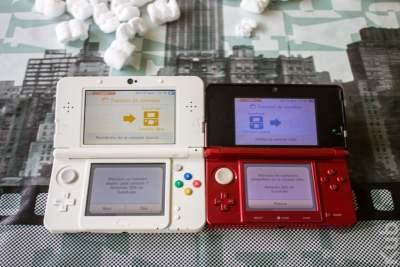 Le transfert des sauvegardes de ma 3DS vers ma New 3DS. Yeah !