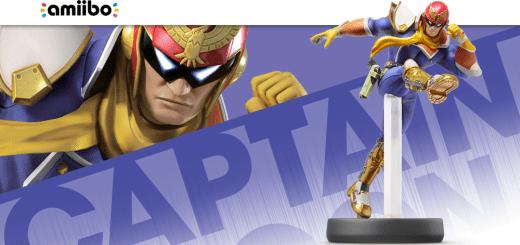 L'Amiibo Captain Falcon et sa fameuse... 3 ème jambe.