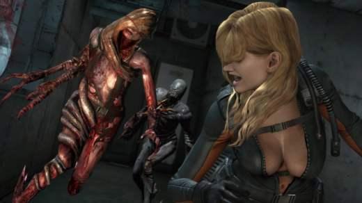 Rachel dans Resident Evil Revelations