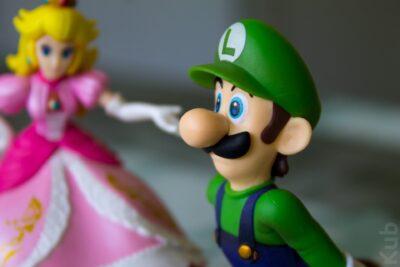 La finition de l'Amiibo Luigi est vraiment réussi !
