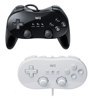 Classic Wii Controller
