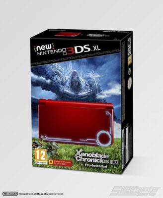 A quoi ressemblera la New 3DS XL collector Xenoblade ?
