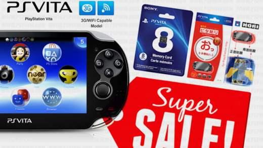 Des promos de folie pour l'anniversaire PS Vita !