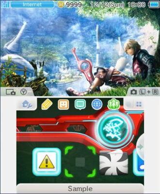 Thème Xenoblade 3DS