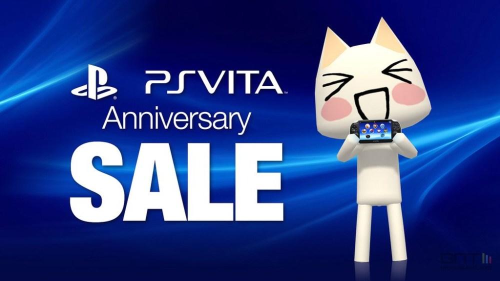 C'est l'anniversaire de la PS Vita qui fête ses 3 ans !