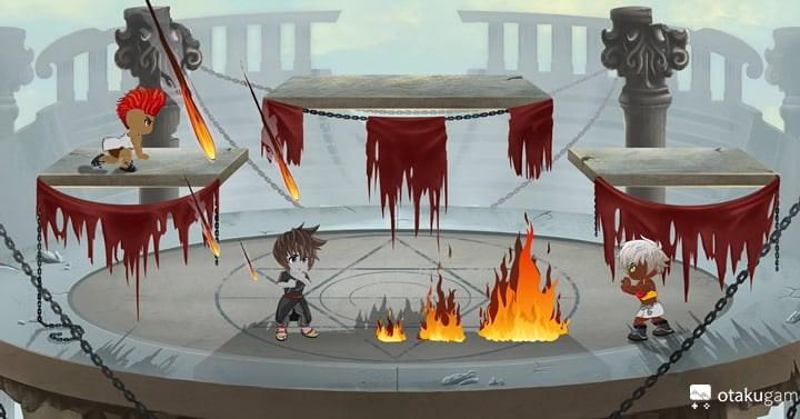 Le premier mockup d'Origins of Lost Alchemies (OLA)