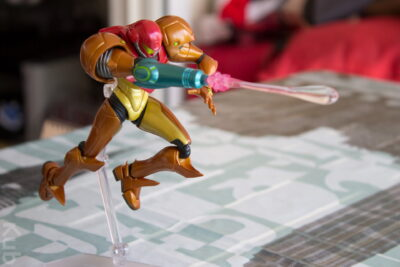 Jump and Fire ! #FigmaSamus