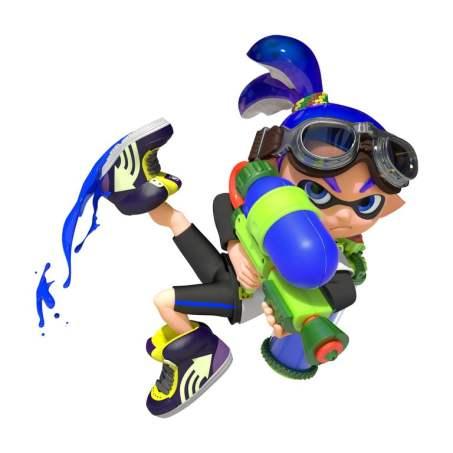 Dessin Nintendo Diffuse Une Collection D Artworks Pour Splatoon