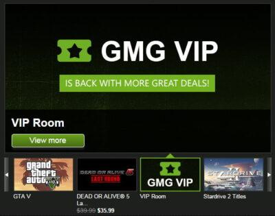 GMG VIP