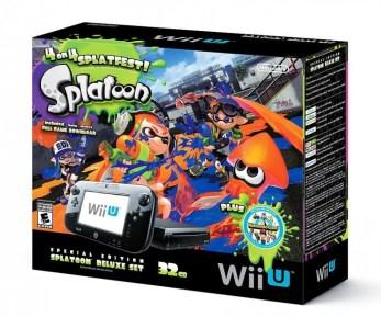 Bundle Wii U Splatoon 32go noir