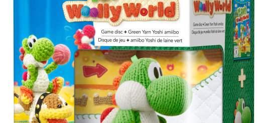 C'est criminel de créer un Amiibo Yoshi-peluche si mignon !