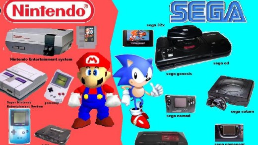 La guerre Sega/Nintendo