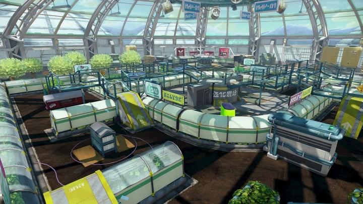 La nouvelle arène de Splatoon : Le dôme !