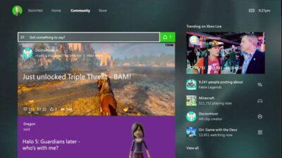 Les avatars seront de retour sur Xbox One !