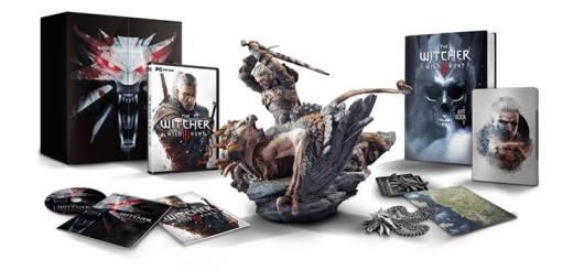 L'édition Collector de The Witcher 3