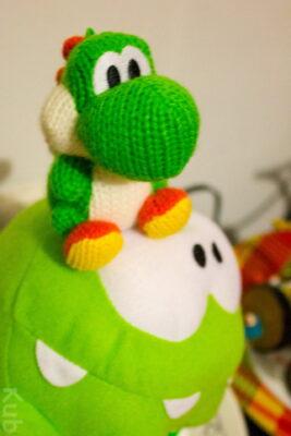 Non Om Nom. Ne bouffe pas Yoshi !
