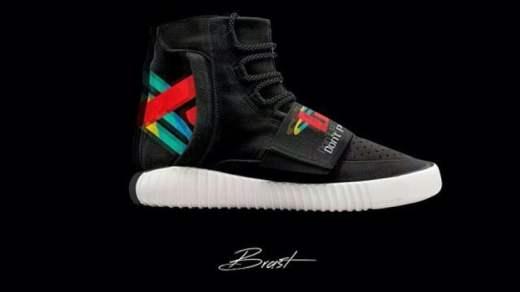 Kanye West x adidas : Playstation sur la Yeezy Morray