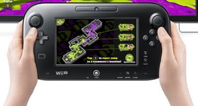 Le Gamepad... Un gros atout de la Wii U !