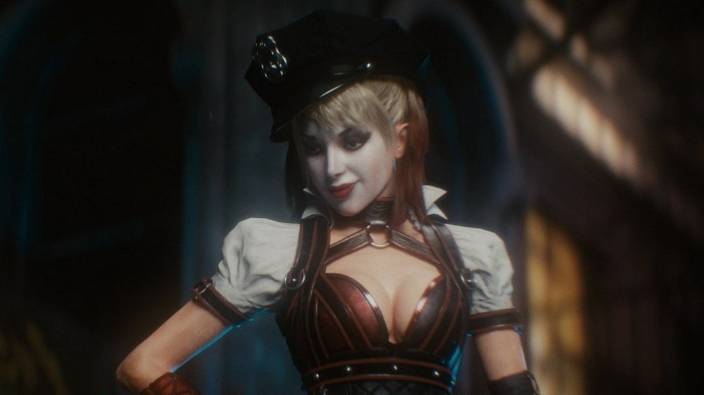 Je ne sais malheureusement pas si le DLC Harley Quinn fait parti de ces versions...