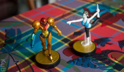Amiibo Entraineuse Wii Fit & l'Amiibo Samus...
