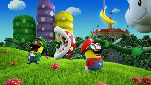 Quand les minions parodient Super Mario Bros...