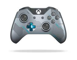 Manette de la Xbox One édition collector Halo 5