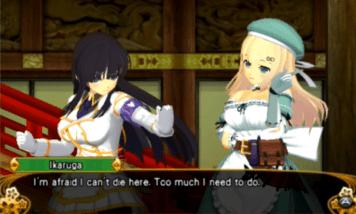 La personnalisation des personnages est visible dans le Visual Novel.