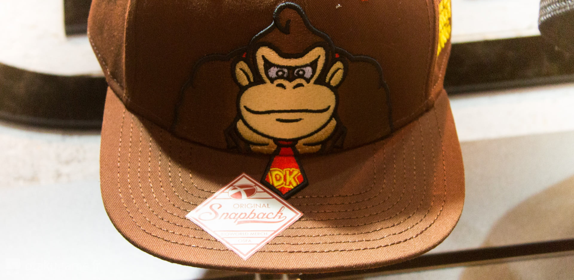 La casquette Donkey Kong
