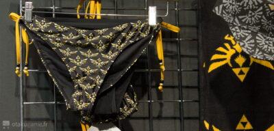 Chez Bioworld, on a affaire à des vêtements de qualité. Y compris sur le maillot de bain Zelda !