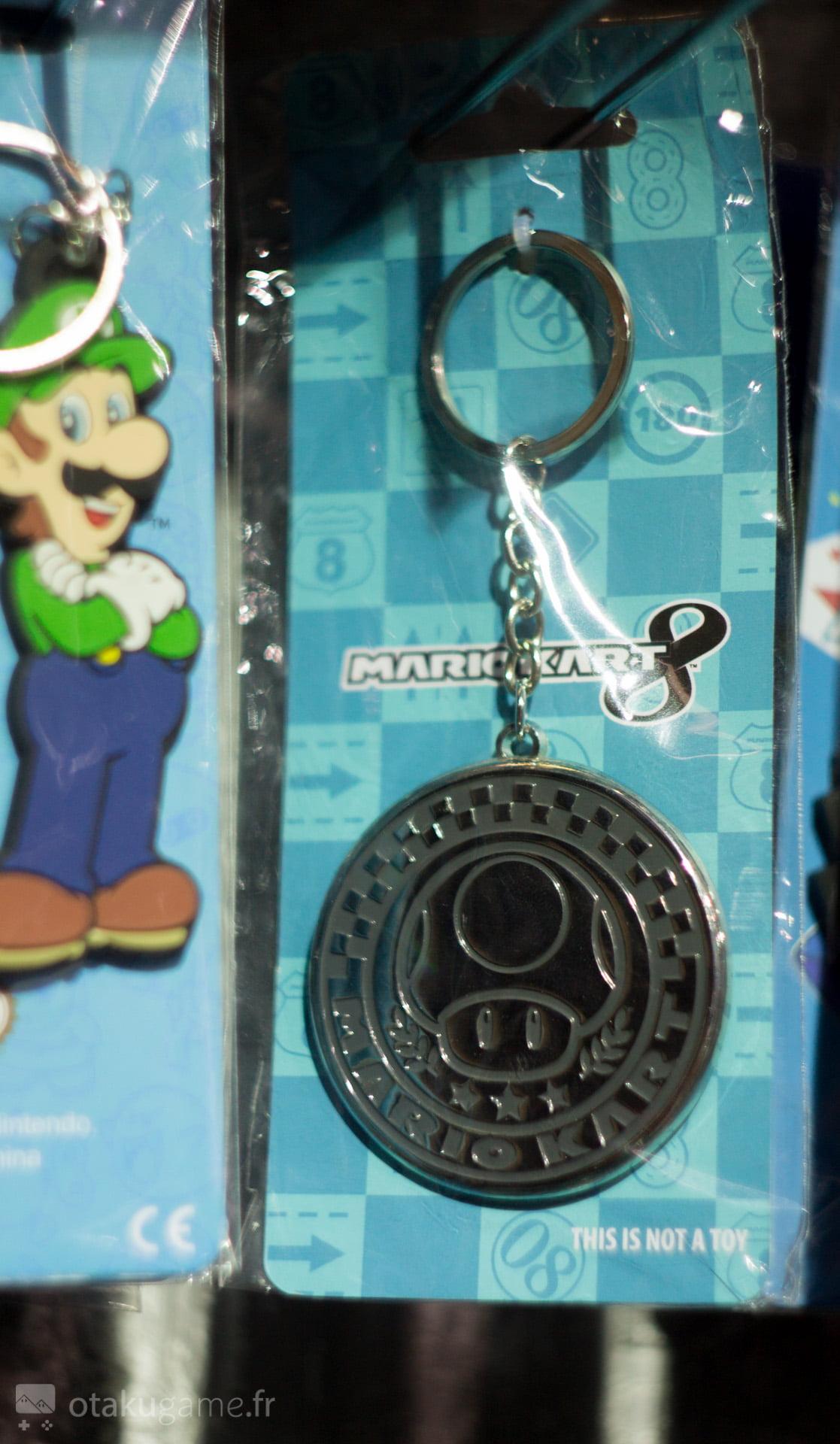 Un porteclefs trophée Mario Kart 8