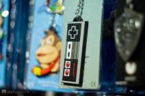 Un porteclefs manette NES