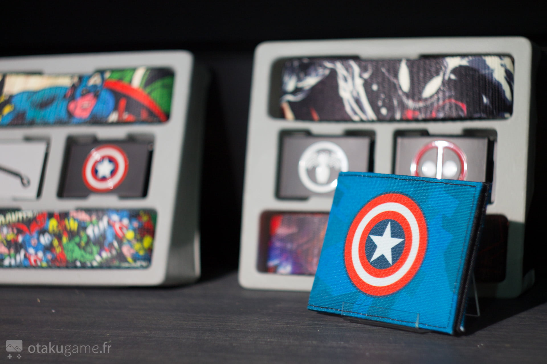 Le portefeuille Captain America