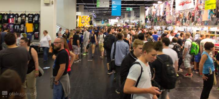 Fanshop Area - Gamescom 2015