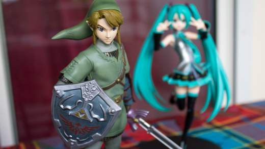 Hatsune Miku est la Guest Star de cette Analyse de la figurine de Link !