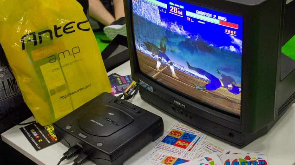 The Sega Saturn, a legendary console !