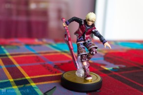 L'Amiibo Shulk dispose d'une finition plaisante.