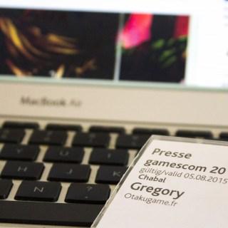 Otakugame.fr sera présent à la Gamescom 2015 !
