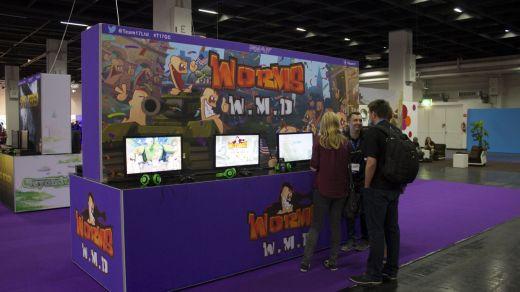 Le stand de Worms WMD