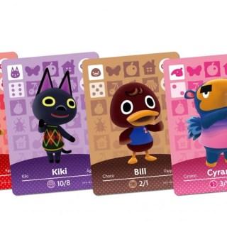 Pleins de cartes Amiibo Animal Crossing !