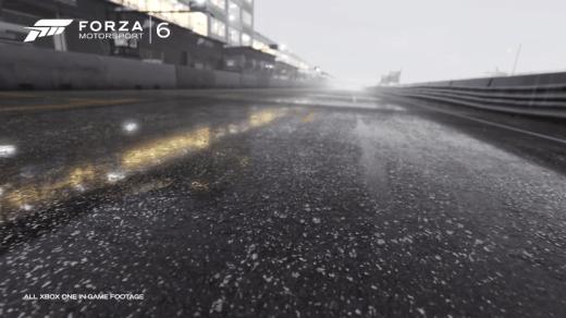 La pluie atteint un niveau exceptionnel sur cette nouvelle monture !