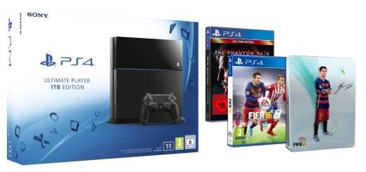 Nouvelle promo sur la PS4 1To + 2 jeux dont FIFA 16 + Un Steelbook !