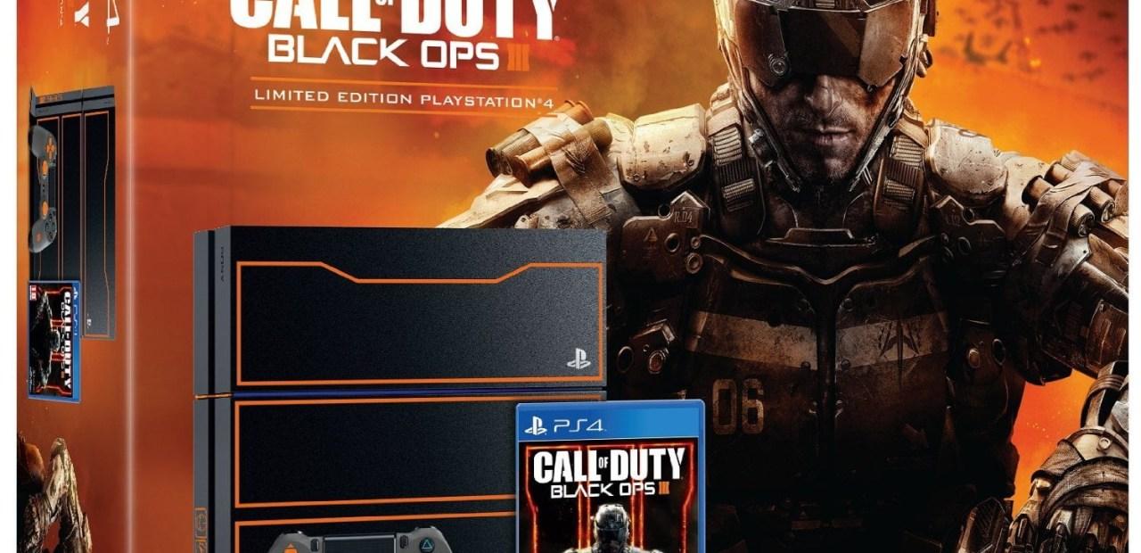 La PS4 collector Black Ops 3 est enfin dispo à la précommande !