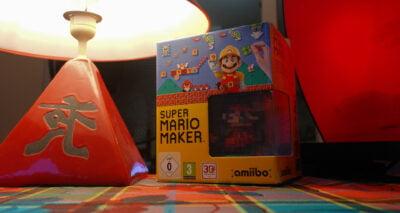 Super Mario Maker est arrivé avec son Amiibo Mario Pixel !