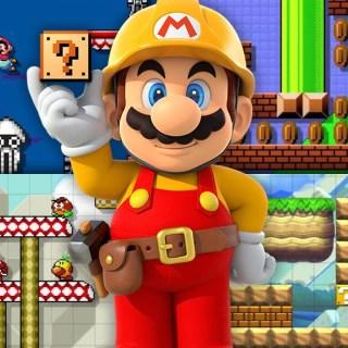 Super Mario Maker et ses différents environnements !