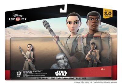 """le DLC """"Le réveil de la force"""" Disney Infinity 3.0 accompagné de Finn & Rey"""